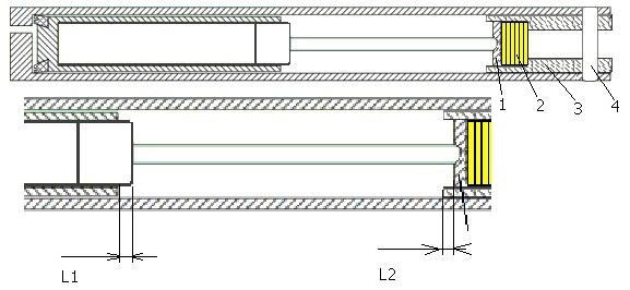 ствол с акцентированным периферическим контуром 1078083857