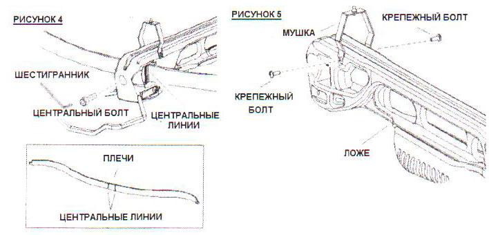 Схема арбалета Скорпион -3
