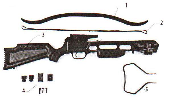 Схема арбалета Скорпион