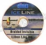 Леска плетеная Climax Ice Invisible 30м 0,08мм