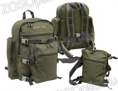 Рюкзак роджер green way 25 л авизент правый рюкзаки полар для ноутбука