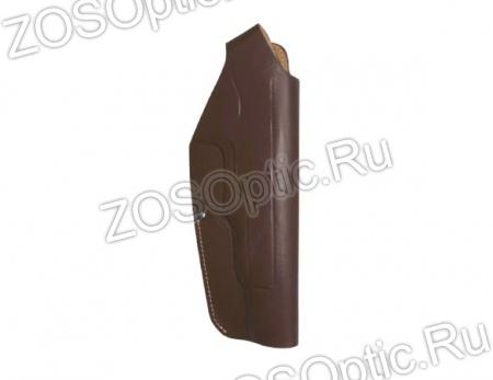 Кобура поясная Дш АПС / кожа коричневый